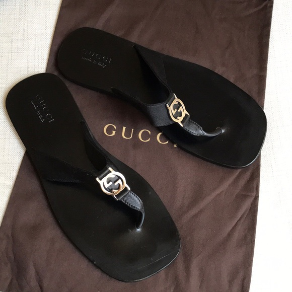 d0d79f0510db Gucci Other - Gucci GG Line Signature Thong Sandals